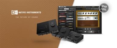 Gratis GUITAR RIG ved kjøp av Komplete Audio-lydkort