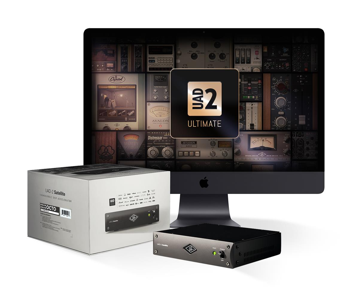 Universal Audio UAD-2 Octo Ultimate 9, 107 plugins inkl, TB3