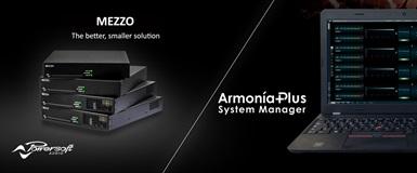Powersoft  MEZZO och Armonía Sound School hos Benum