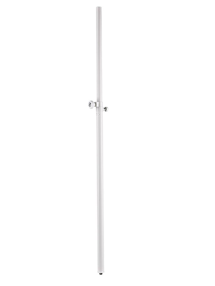 K&M 24623 Distance Rod. XL. M20. Hvit. Høyde opptil 2400 mm
