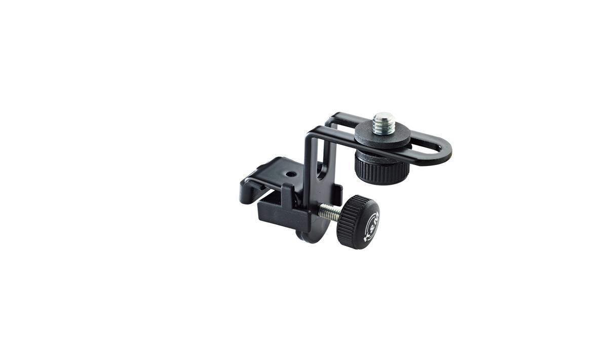 K&M 24030 Mikrofonholder for tromme, sort