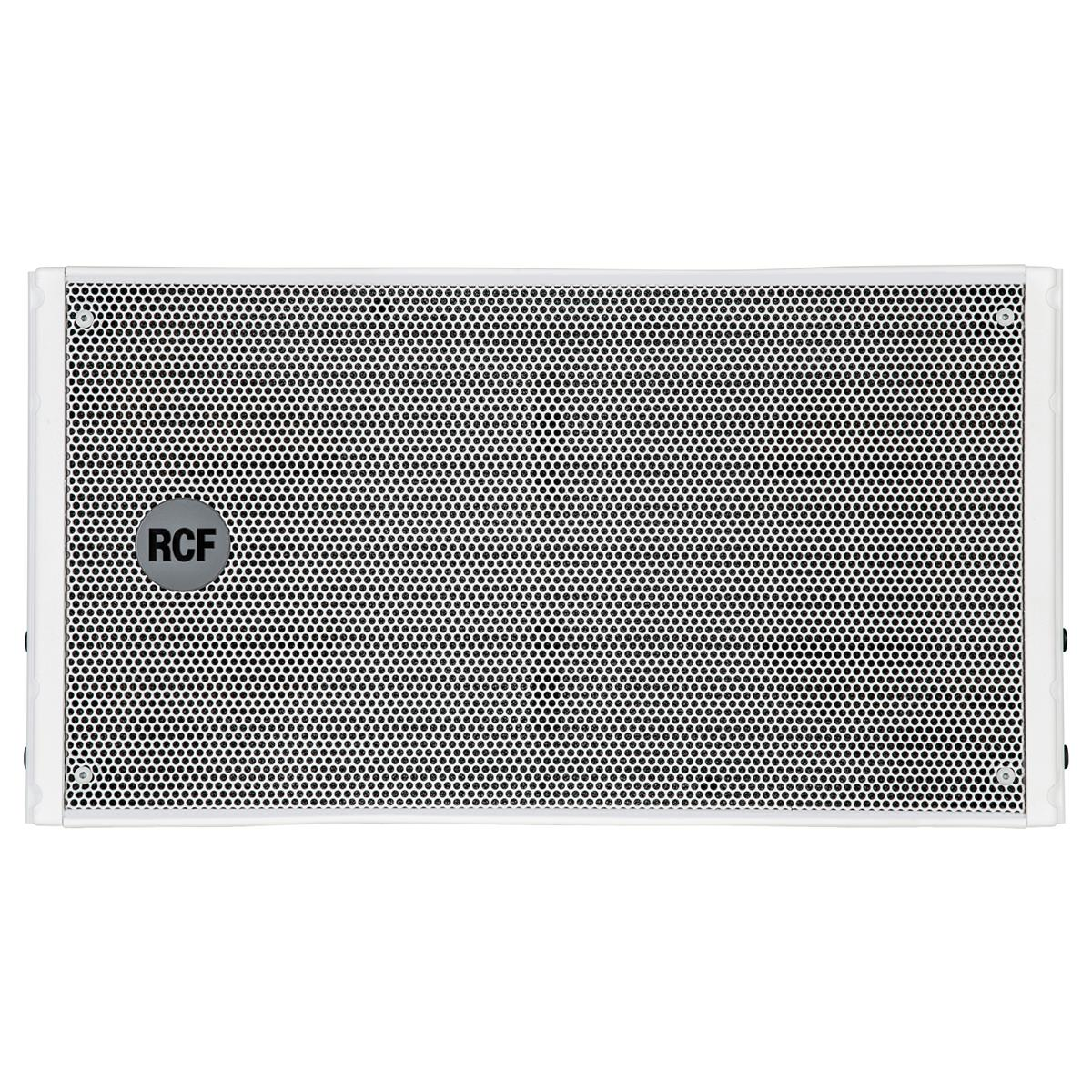 RCF Active 2-way line array module 2x8in + 2in White