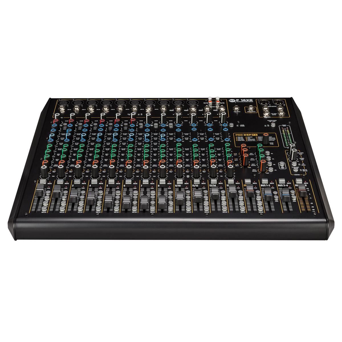 RCF F 16XR 90-240V 16 channel mixing console with multi-FX &