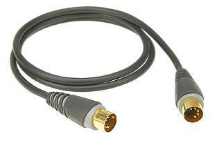 Klotz Midi kabel DIN5-DIN5  1 m