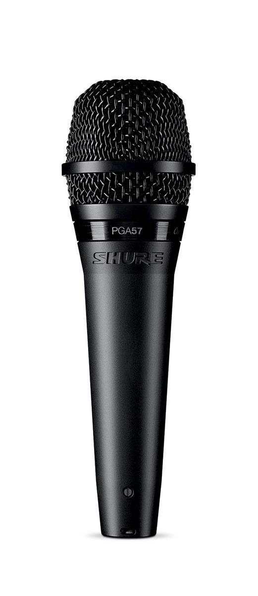 Shure PGA57-XLR SNARE/GUITAR AMP MIC W/15FT XLR CABLE