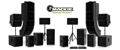 Ny komplett PA-serie fra Mackie