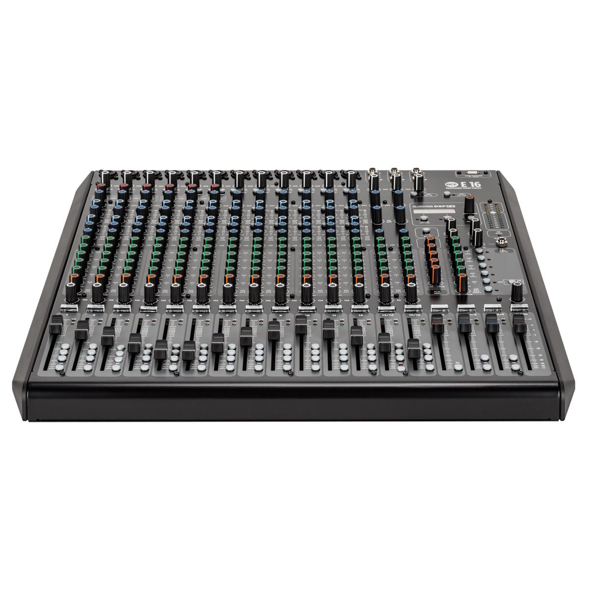 RCF E 16 16-kanals analog mikser med FX/USB