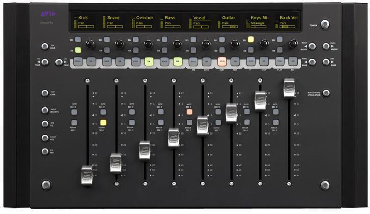 Avid Artist series Mix Kontroller