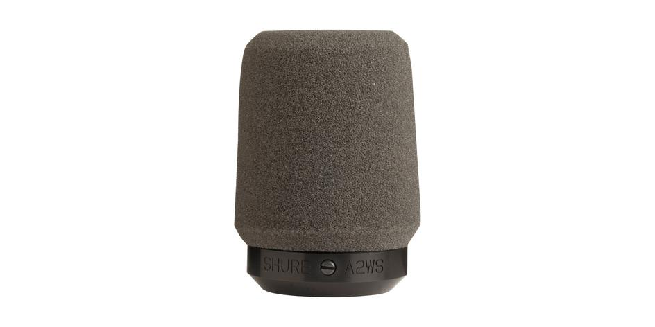 Shure Locking Microphone Windscreen for SM57 gray