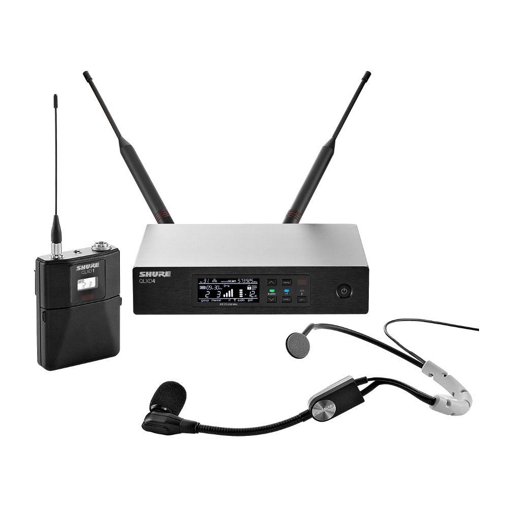 Shure QLXD14SM35 Wireless Headset System H51(534-598 MHz)