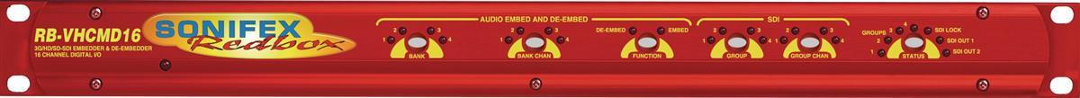 Sonifex RB-VHCMD16 3GHD SD SDi  Embedder