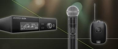 SLX-D, ny serie trådløs lyd fra Shure
