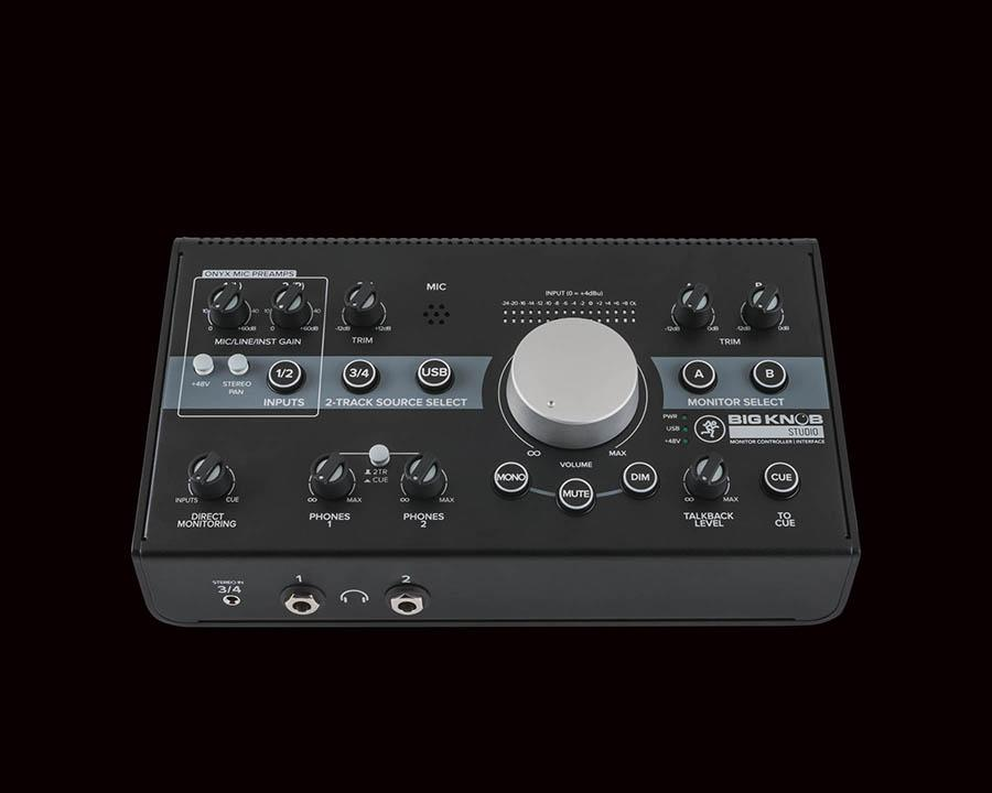 Mackie Big Knob 3x2 studio monitor controller,96kHz, USB I/O