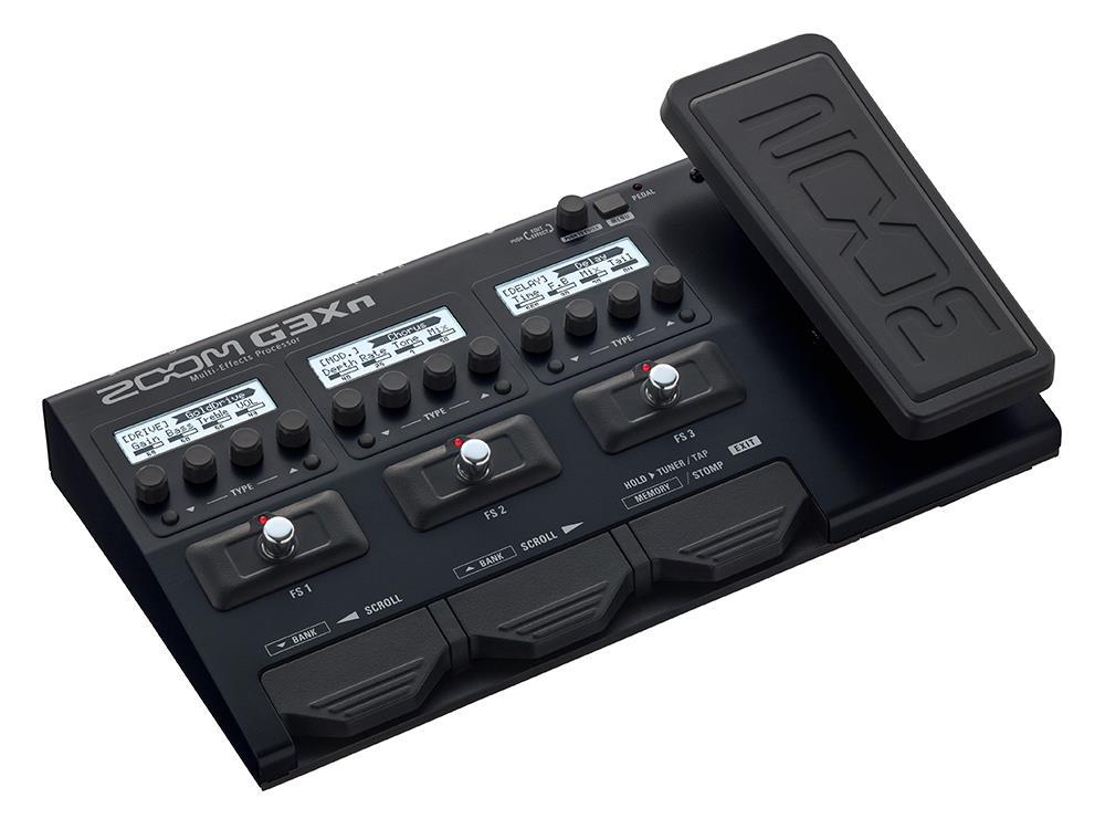 Zoom G3Xn gitar effektpedal og amp simulator