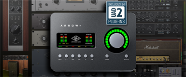 Universal Audio lanserer Arrow!