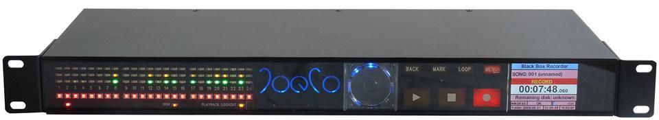 JoeCo BBR1 Blackbox 24 Tr Recorder unbalanced