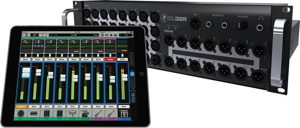 Mackie 32-channel Wireless Digital Live Mixer w/iPad Control