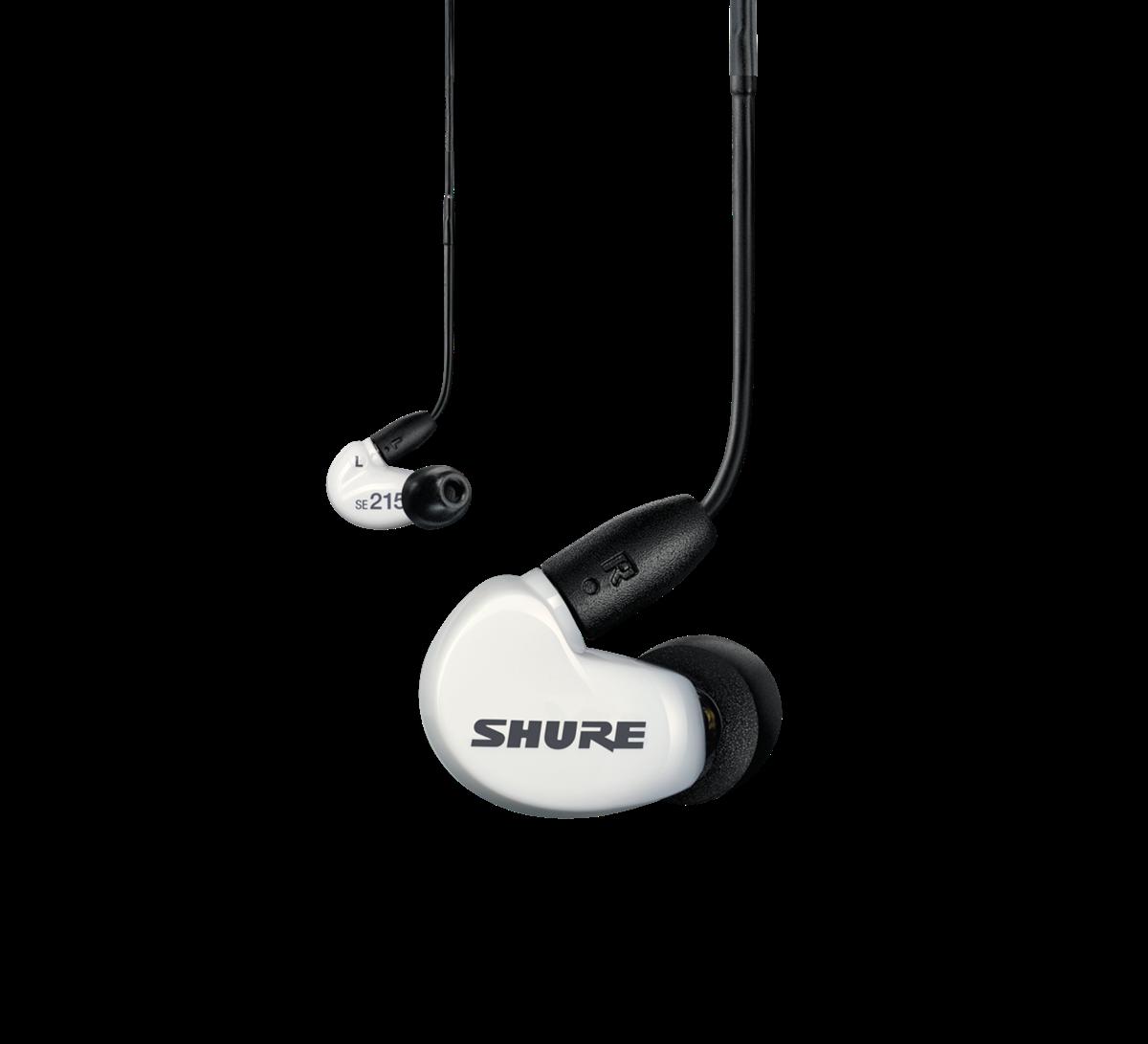 Shure SE215 Earphone w/ RMCE-UNI, WHITE