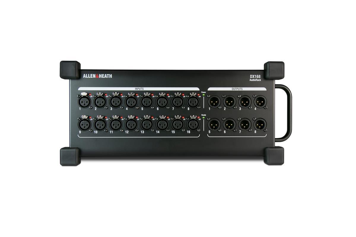 A&H DX168 AudioRack dLive 16/8 XLR I/O, dSnake