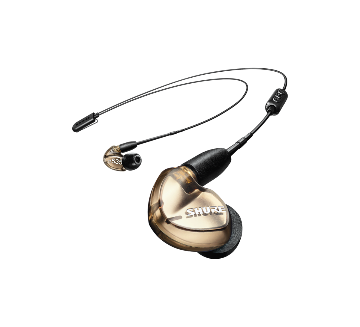 Shure SE535 Earphones UNI+RMCE-BT2 Bluetooth 5 - BRONZE