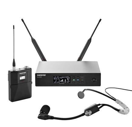 Shure QLXD14SM35 Wireless Headset System K51(606-670 MHz)