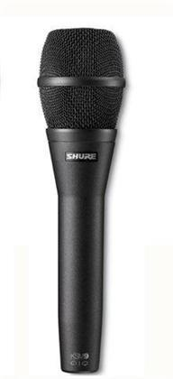 Shure KSM 9CG Dual Pattern Condenser Vocal Mic Black