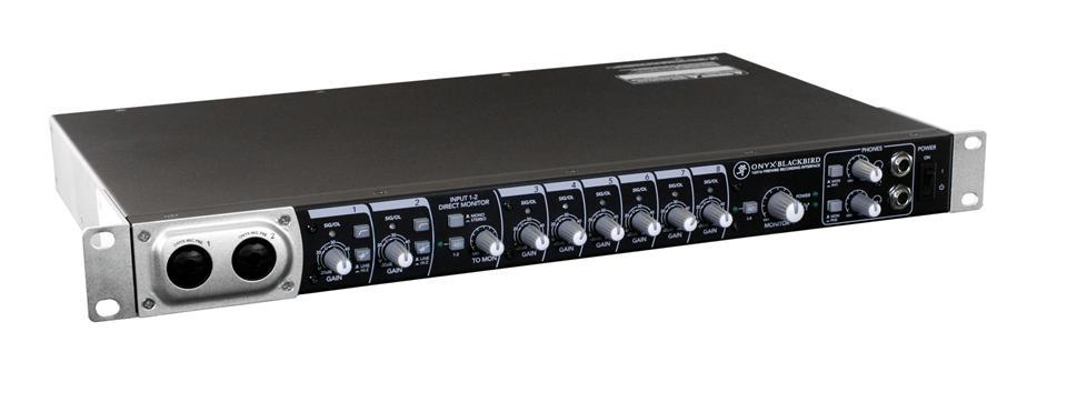 Mackie Blackbird 16x16 FireWire Recording Interface