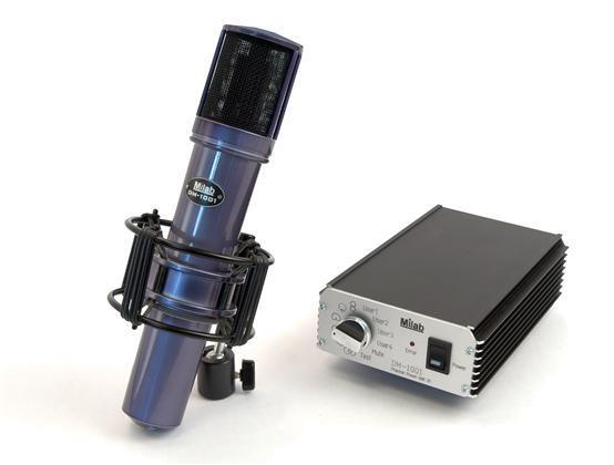 MILAB Digital Mikrofonsystem, multi pattern