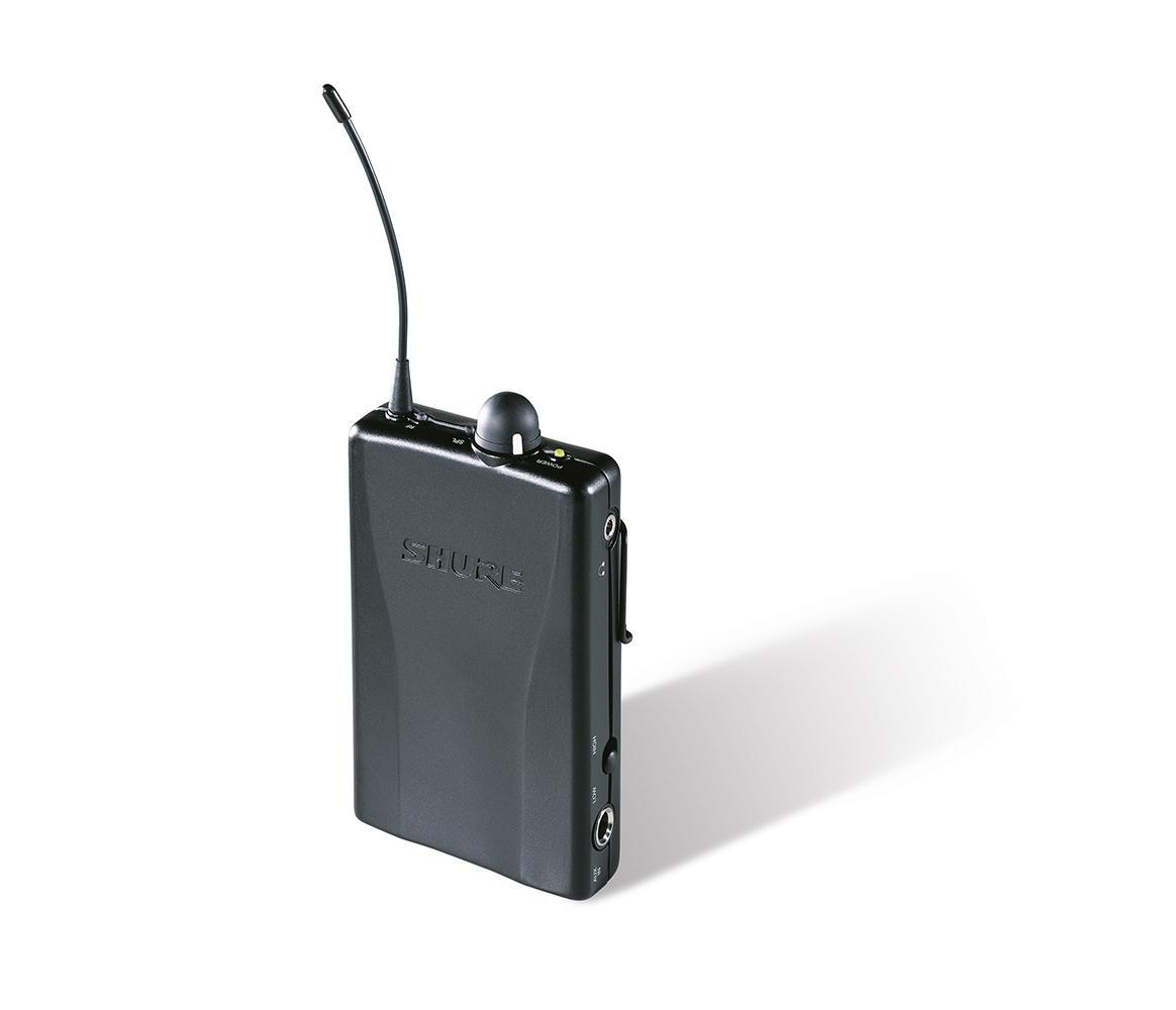 Shure PSM200 InEar Wireless ReceiverH2 (518-554MHz)