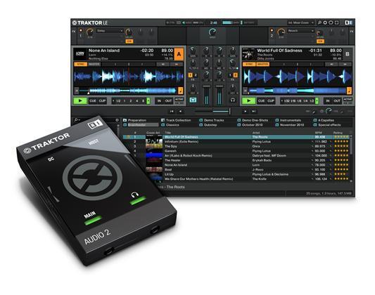 Native Instruments Traktor Audio 2 MK2 DJ-interface (23770)