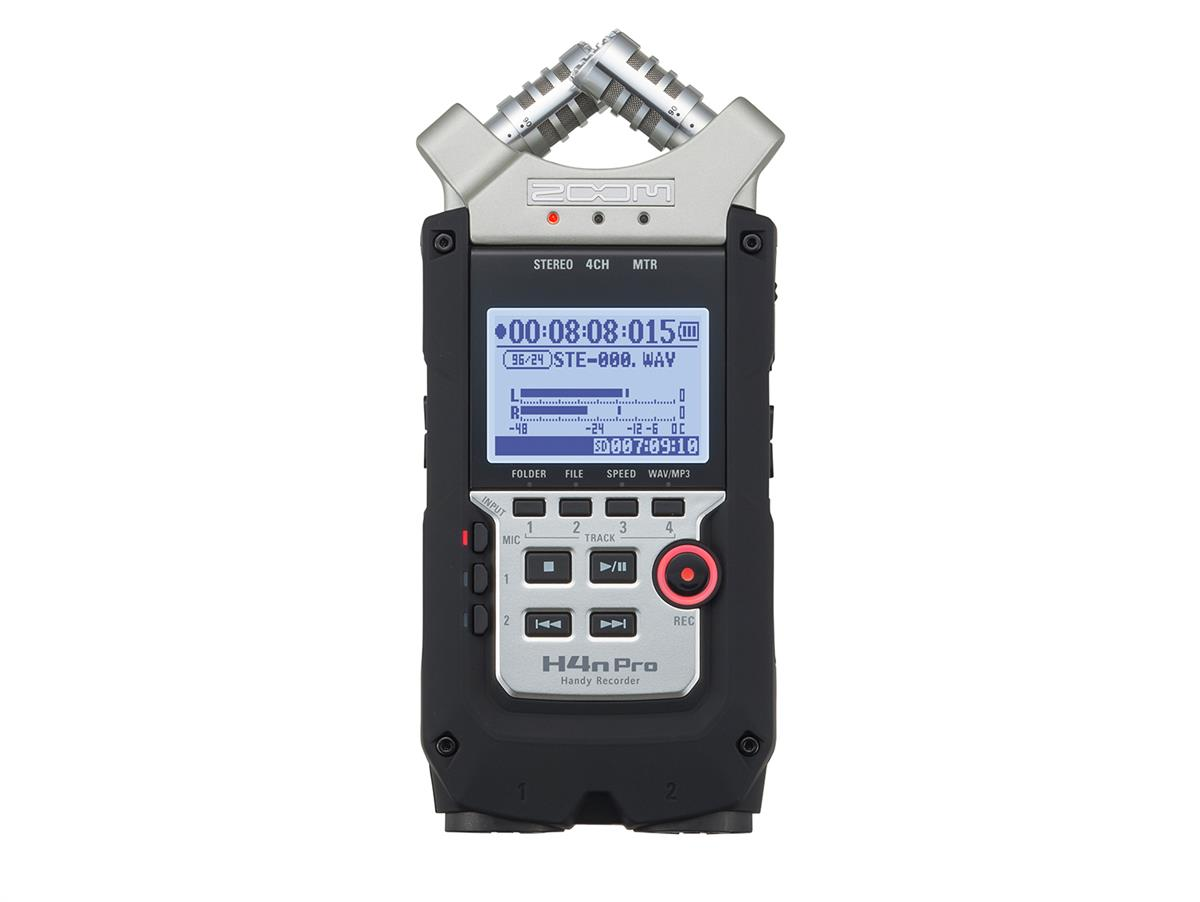 Zoom H4nPro Handy 4-Channel Recorder