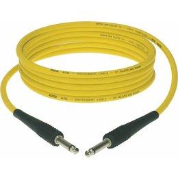 Klotz KIK Instr.Cable black 2m Jack 2p - Jack 2p yellow