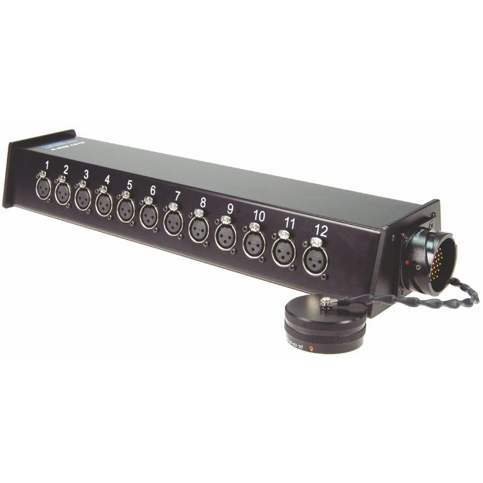 Klotz RMP 37P Stagebox 12/12 XLR/37p han