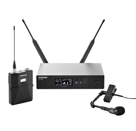 Shure QLXD14 Wireless Clip On System K51(606-670 MHz)