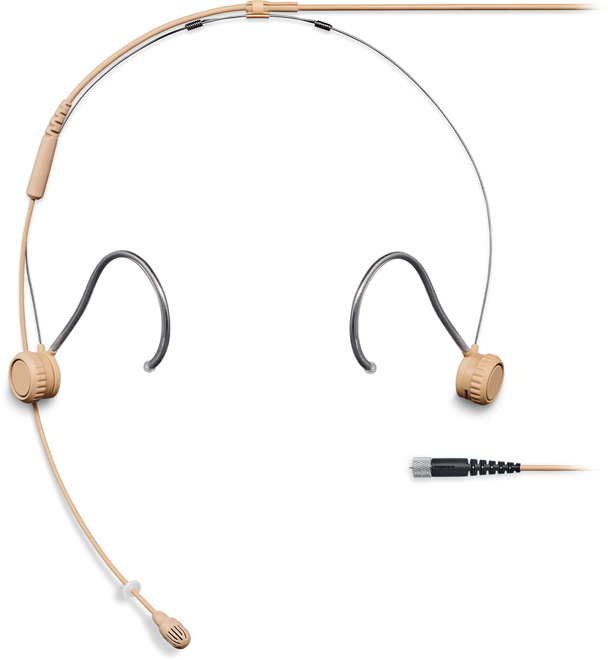 Shure TH53 Headset Omni 1.6mm Cab MDOT Tan