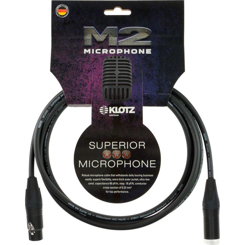 Klotz mik.kabel Superior Neutrik XLR/XLR 5 m