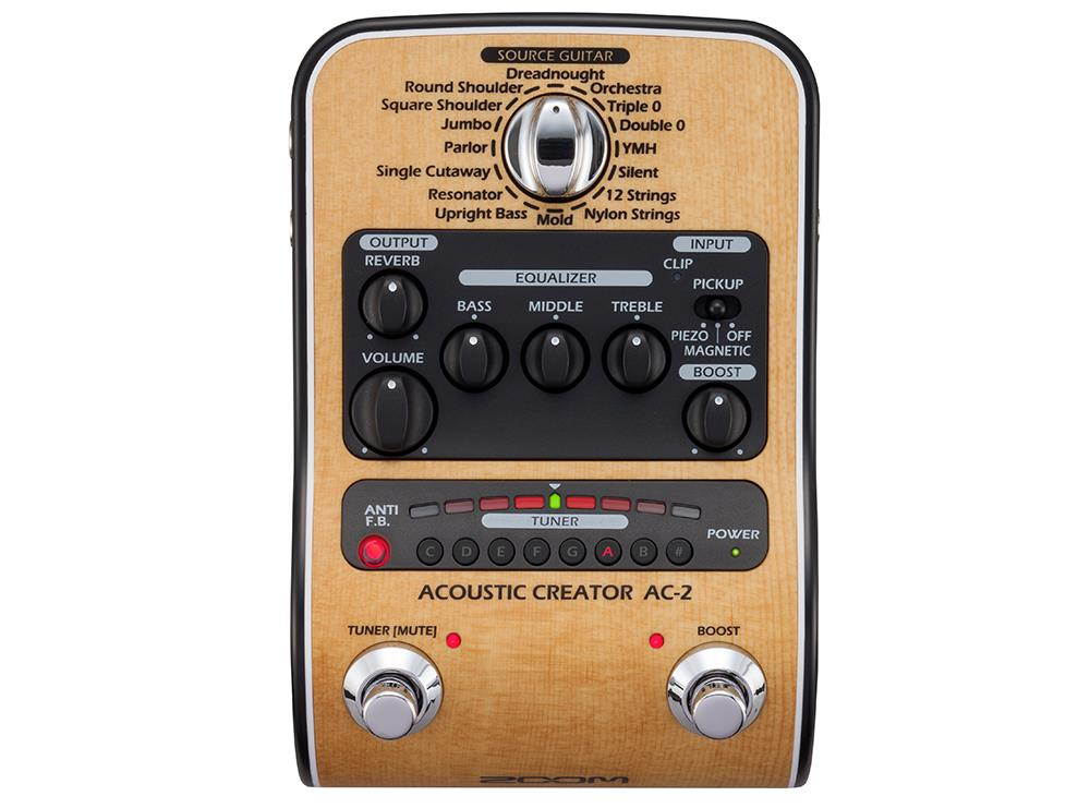 Zoom AC-2 Acoustic Creator, Di-boks