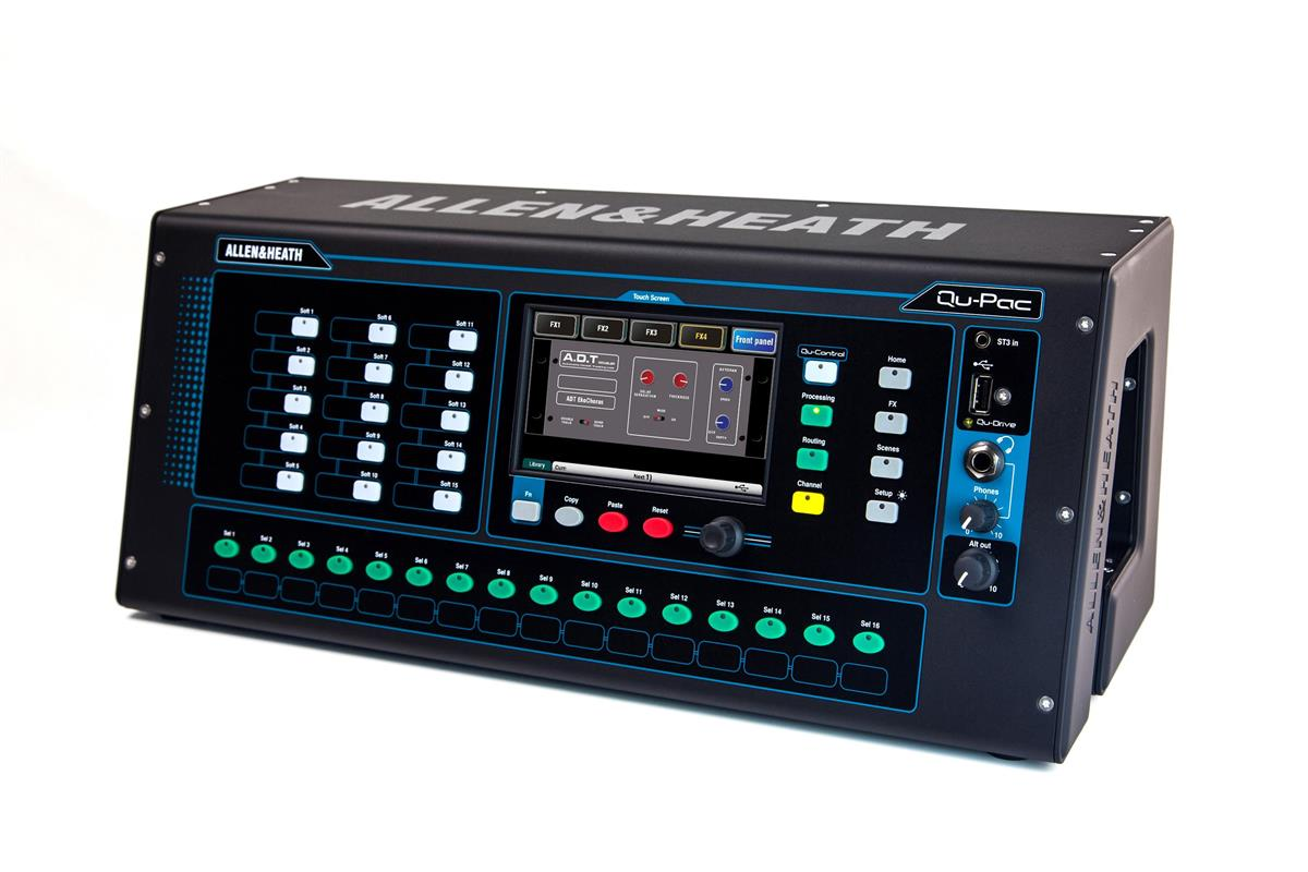 A&H Ultra compact Digital Mixer with touch screen control