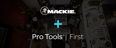 Mackie + Pro Tools First