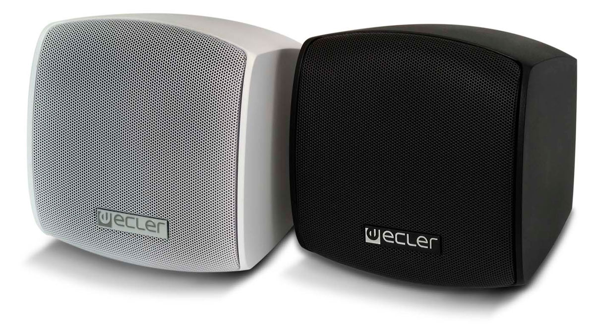 Ecler CAUDEO103BK Black25W 8Ohm-15W 100Vdesing louds.cabin