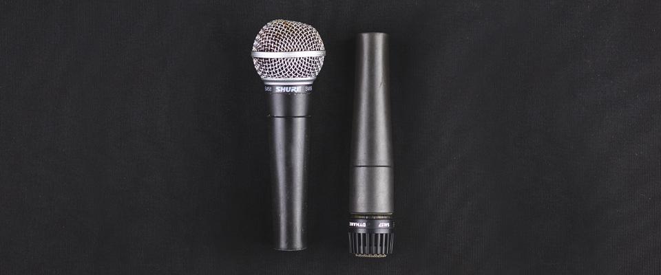 Hygiene og rengjøring av mikrofoner