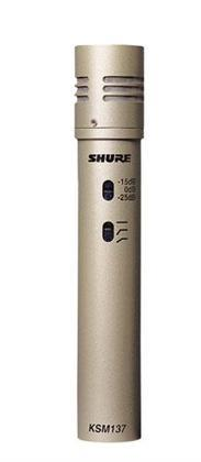 Shure KSM 137 Cardioid Studio Condenser Mic