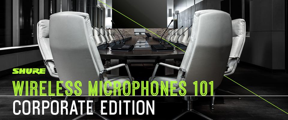 Shure Microphone 101 webinarie - 1 juli 14:00-15:00