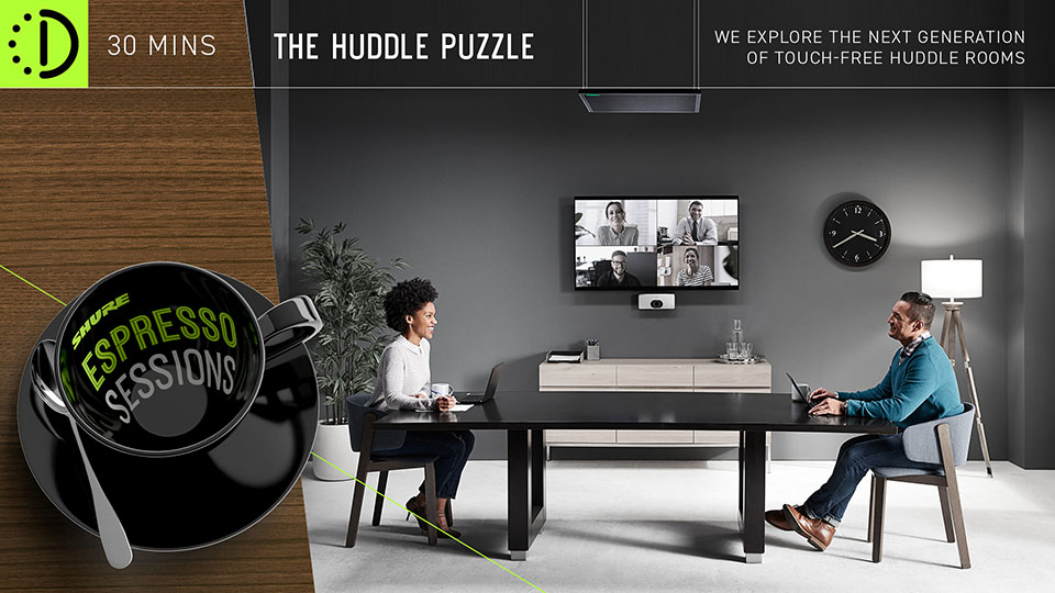 Shure miniseminar – The Huddle Puzzle