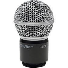 Shure SM58 mikrofonelement kardioide for Shure håndsender