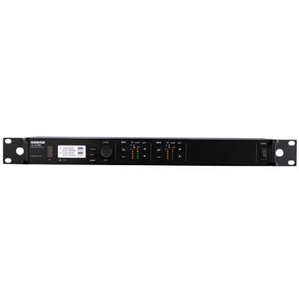 Shure ULXD4D Dual Digital Wireless Receiver H51(534-598MHz)