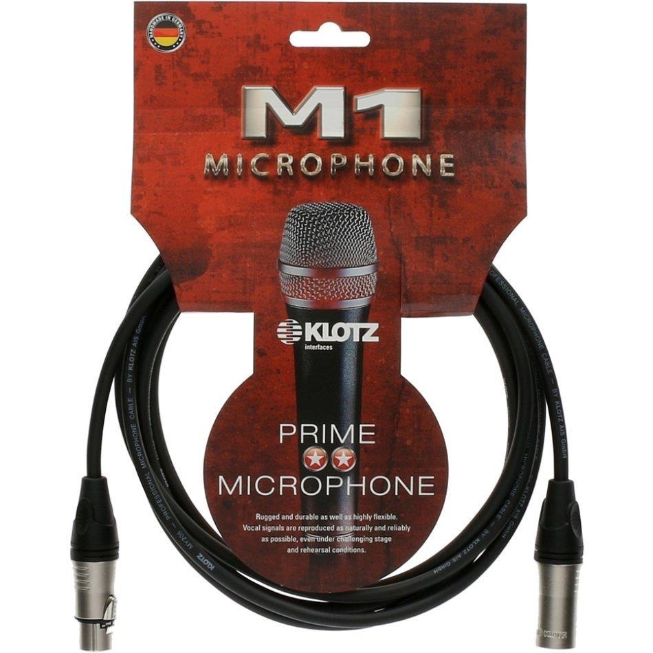 Klotz mik.kabel Prime Klotz XLR/XLR 1 m