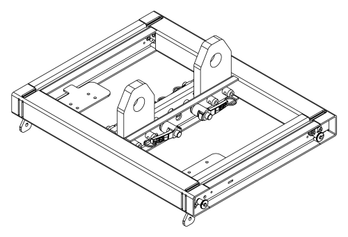 Adamson S7 & S118 Support Frame