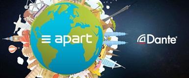 Gratis seminar med Apart Audio, AoIP, nettverk og Dante
