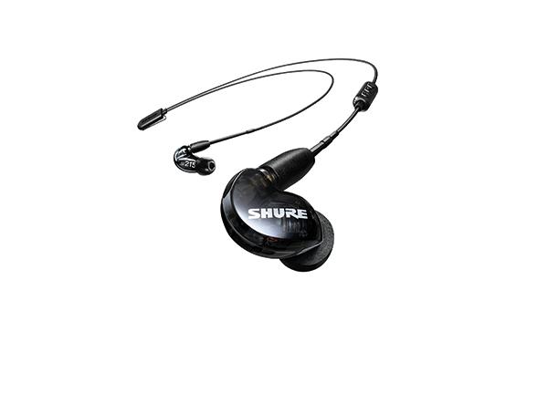 Shure SE215 earphone w/ RMCE-BT2 Bluetooth, BLACK